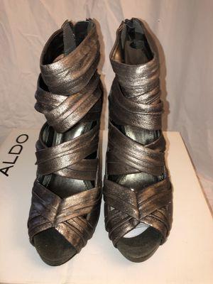 NIB ALDO Metal Color Open Toe Heels 4in Heels for Sale in Celebration, FL