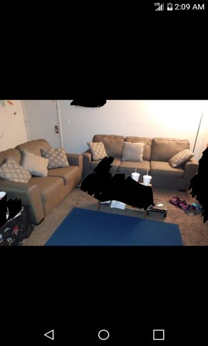 Ashley furniture couch and love seat (LIKE NEW) for Sale in Wichita, KS