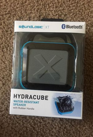 Hydra Cube Water Resistant Speaker with rubber handle for Sale in Baltimore, MD