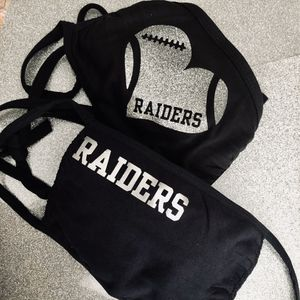 Raiders mask 😷 for Sale in Fresno, CA