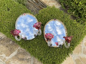 Antique Faux Mirrored Sconces for Sale in Los Angeles, CA