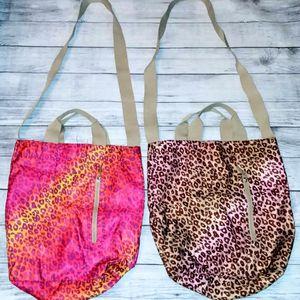 👛 Bath & Body Works Cheetah Print Hobo Bags 👛 for Sale in Puyallup, WA