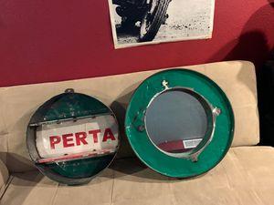 Steampunk shelf and mirror set for Sale in Spokane, WA