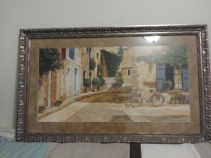 Glass picture and frame for Sale in Knoxville, TN