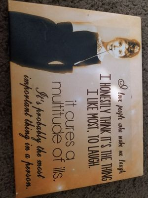 Audrey Hepburn Canvas for Sale in Phoenix, AZ