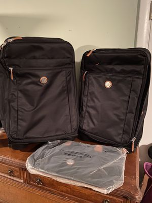 Joy Mangano black 3 piece luggage set for Sale in Hanover, MD