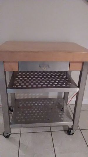 John Boos kitchen island on wheels for Sale in Miami, FL