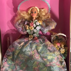 1994 Enchanted Seasons collection Limited Edition Barbie for Sale in Buena Park, CA