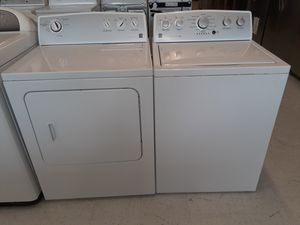 Kenmore tap load washer and electric dryer set used good condition with 90 day's warranty for Sale in Mount Rainier, MD
