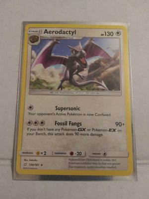Aerodactyl 130/181 - Rare Pokemon Card - Team Up Set for Sale in El Paso, TX