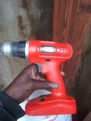 Black decker Drill 18v for Sale in Norfolk, VA