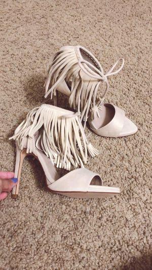 Zara Suede Fringe Sandals for Sale in Mount Laurel Township, NJ