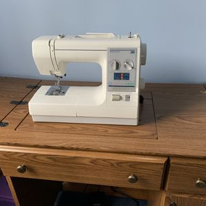 Sewing Machine In Cabinet for Sale in Powhatan, VA