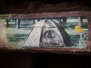 camouflage tent very good condition for Sale in Montclair, CA