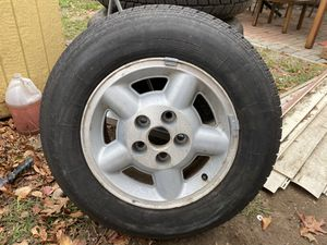 Rims and tires 205/75/15 for Sale in Hartford, CT