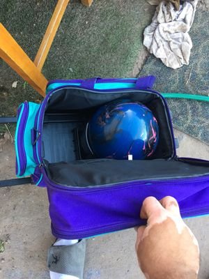 Bowling ball kit with shoes for Sale in Phoenix, AZ