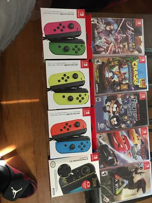 Nintendo Switch games and controllers for Sale in Overland, MO