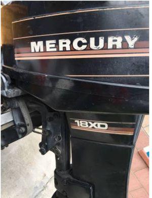 Mercury 18XD Boat Motor - 18 Horse Power, 2 Stroke for Sale in Glendora, CA