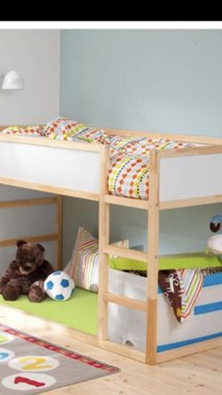 Reverse Loft Bed/ Bunk + Canopy for Sale in Gresham,  OR