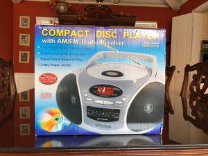 NEW CD Player (Boom Box) for Sale in Dallas, TX