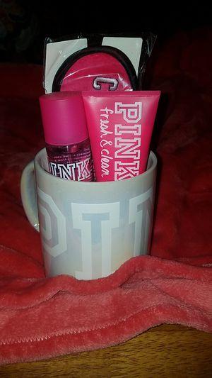 Victoria Secret pink mug for Sale in Frostproof, FL