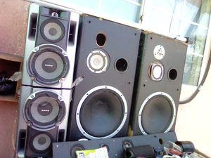 Audio speakers for Sale in Los Angeles, CA
