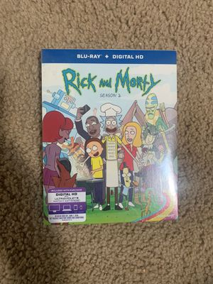 Rick and Morty Season 2 Blu-ray for Sale in Stockton, CA