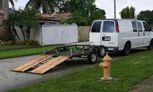 5x8x6 Utility Trailer with Ramp For Sale for Sale in Miami Gardens, FL