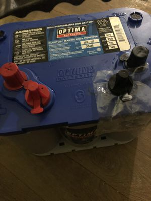 Brand new optima blue top battery for Sale in Houston, TX