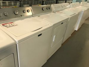 Basic washer and dryer set 90 days warranty for Sale in Reisterstown, MD