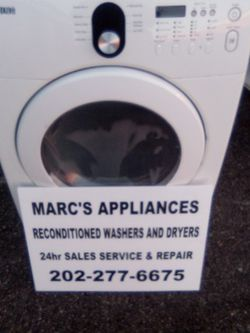 Samsung Heavy Duty Large Capacity Electric Dryer Works Good 30 Day Warranty Delivery Available for Sale in Washington,  DC