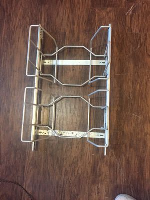 Double pull out kitchen trash can holder for Sale in Chesapeake, VA