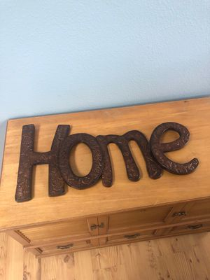 HOME (tin?) Sign for Sale in Dayton, OR