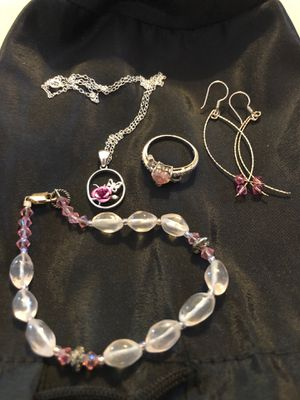 PINK! Sterling silver jewelry and 925 for Sale in Phoenix, AZ