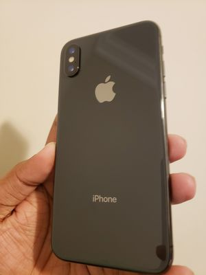 iPhone X , 256 GB, Unlocked for All Company Carrier, Excellent Condition like New for Sale in Springfield, VA