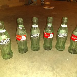 Vintage Coca Cola Bottles (6) for Sale in Worthington, PA