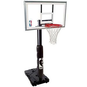 BOUGHT NEW!!!! 2021 ON AMAZON FOR $435***NBA***OUTDOOR!!! ADJUSTABLE ***CLEAR 54 Inch ***BASKETBALL*** HOOP 7.5 To 10FT for Sale in Bellevue, WA