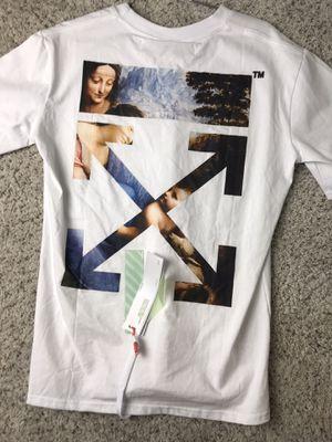 Offwhite tee men's L for Sale in Denver, CO