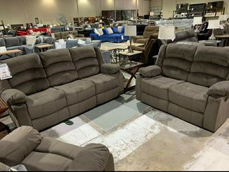 🍒$39 Down  🍒  Best OFFER.    SPECIAL] Monet Chocolate Sofa & Loveseat | U2400 by Global for Sale in West Laurel,  MD
