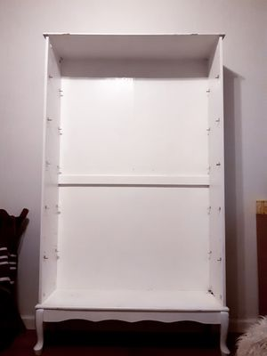 White Country Styled Bookcase for Sale in Portland, OR