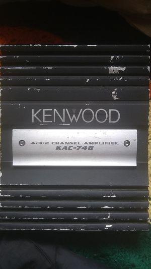 Kenwood amplifier for Sale in Aberdeen, WA