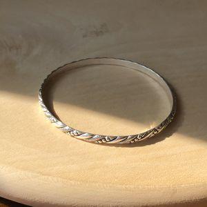 Sterling silver bangle bracelet for Sale in Manassas, VA