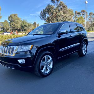 2011 Jeep Grand cherokee Overland!!! for Sale in Fremont, CA