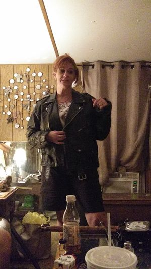 Men's leather Highway One Motorcycle Jacket xl for Sale in Austin, TX