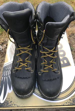 Georgia Boot Men's Amp LT Logger Composite Toe Waterproof Work Boot, GB00272 for Sale in Everett, WA