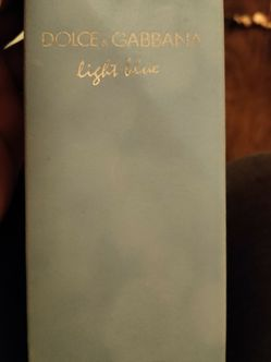 Dolce & Gabbana Light Blue Perfume for Sale in Newark,  NJ