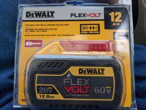 DEWALT FLEXVOLT 12 AMP BATTERY for Sale in Santa Clara, CA