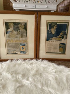 Two ladies home journal original prints for Sale in Reedley, CA