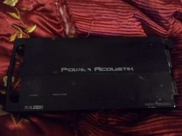 Power acustic amplifier