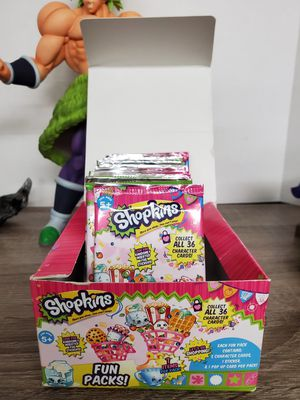 Shopkins 24 sealed fun packs for Sale in San Gabriel, CA